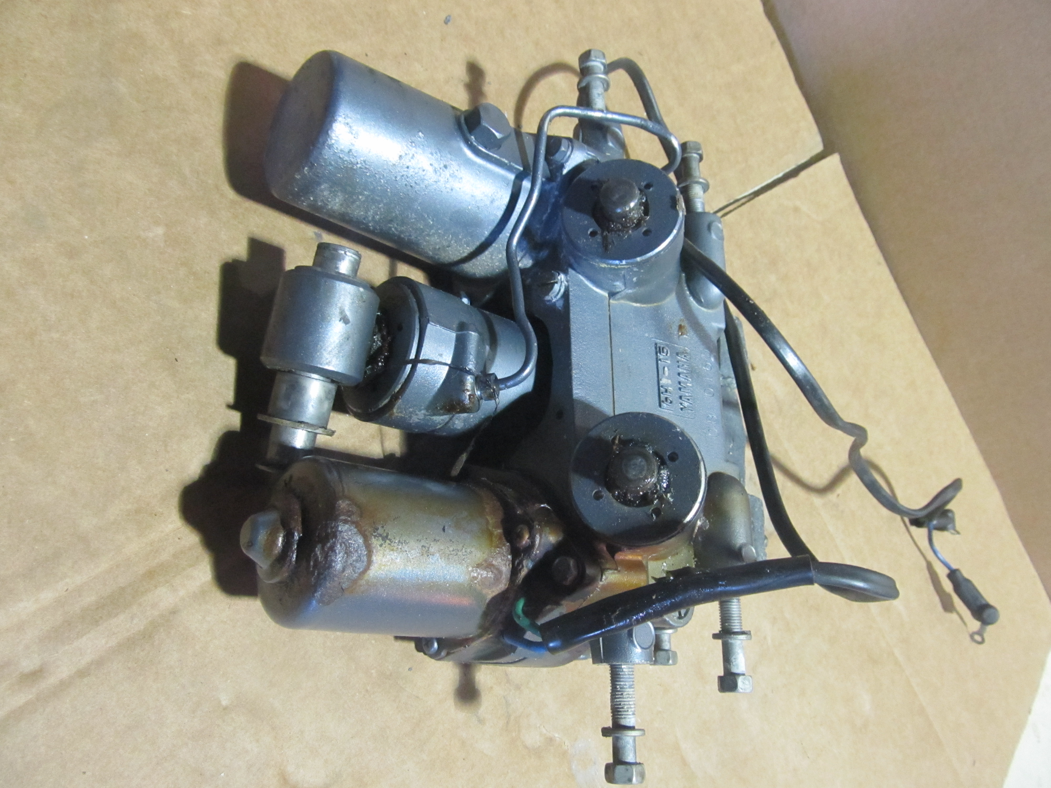 6h1 43800 15 4d 1997 2001 60hp 70hp 75hp 85hp 90hp for Trim motor for yamaha outboard