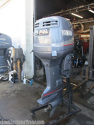 200 HP 2-Stroke Carbureted 25